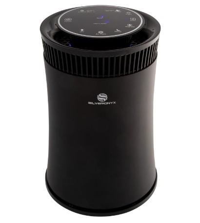 SilverOnyx desk air purifier
