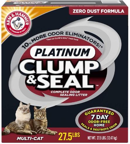Arm & Hammer clump & seal Platinum