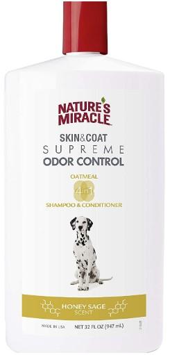 Nature's Miracle Supreme Odor Control Shampoo