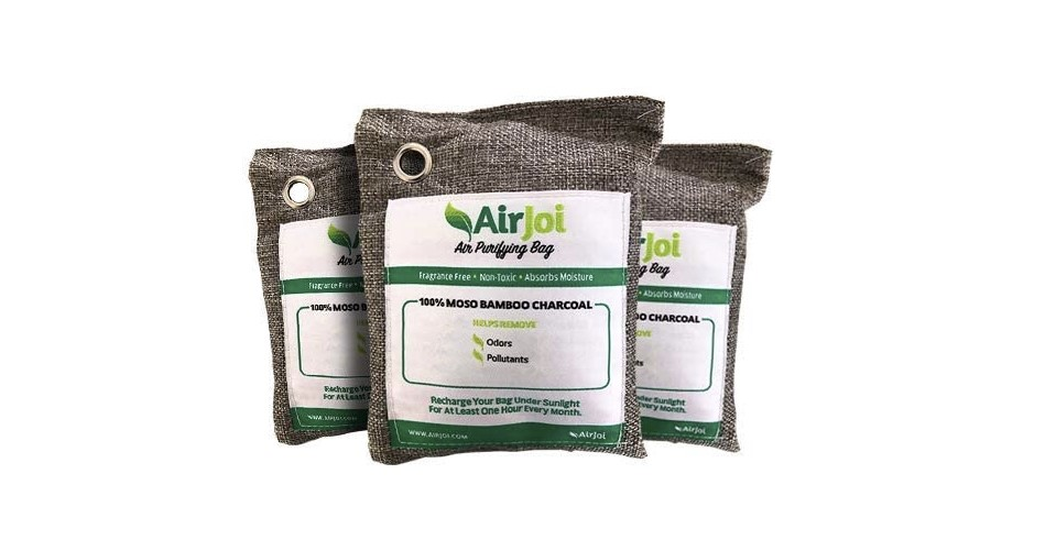 AirJoi bamboo charcoal bags