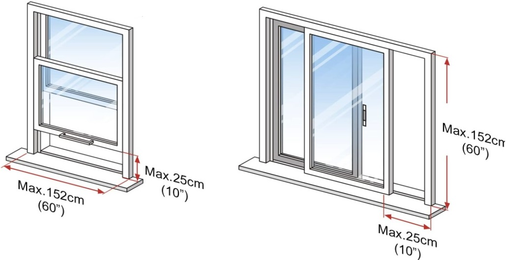 Homee sliding window seal
