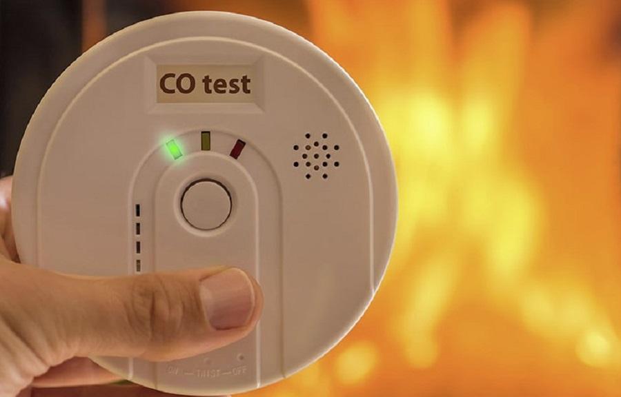 carbon monoxide detector placement code