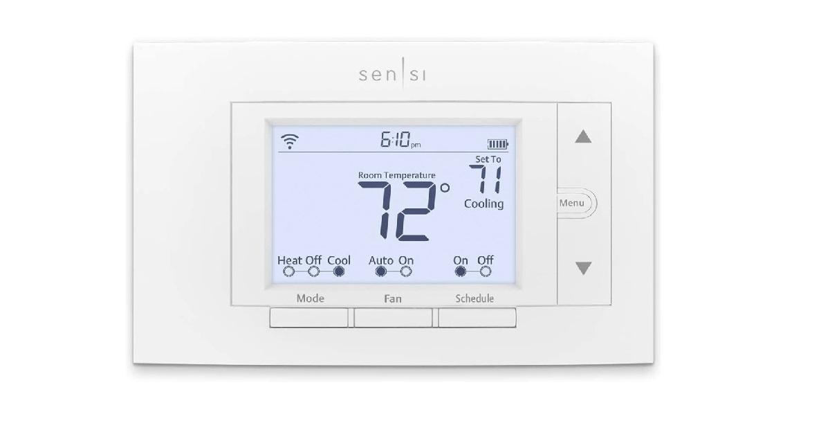 Emerson Sensi Wi-Fi thermostat