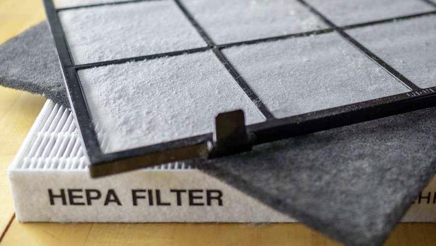 HEPA air filter