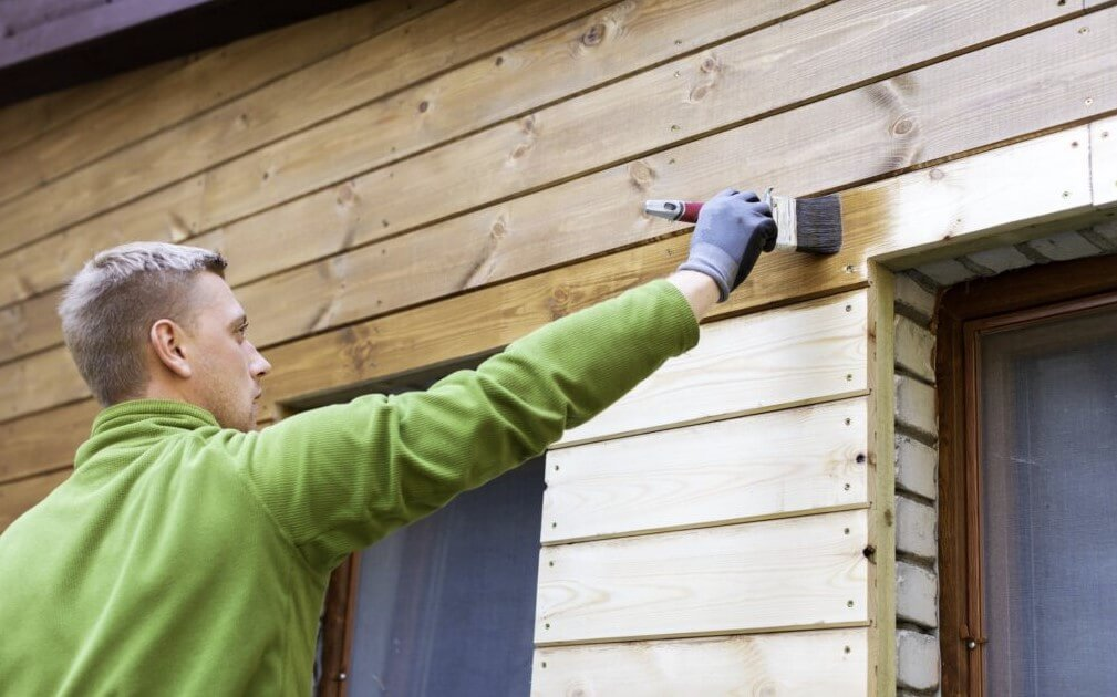 Varnish is used to protect wood